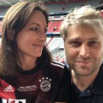 Sarah und Simon Betschinger Allianz Arena