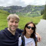 Sarah und Simon Betschinger beim Wander in Mellau