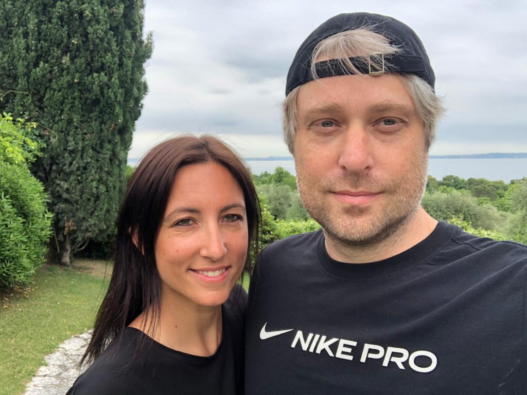 Sarah und Simon Betschinger Gardasee 2021